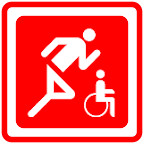 Behinderten Sport