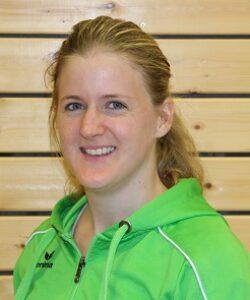 Anika Schneider, Übungsleiterin, C-Trainerin Trampolin & 1. Spartenvorsitzende